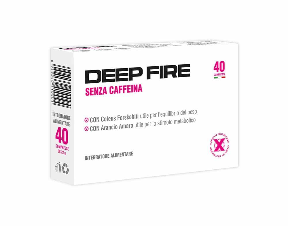 XWoman Nutrition - Deep Fire utile per l'equilibrio del peso e stimolo metabolico - Integratore Alimentare