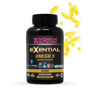 EXENTIAL<strong></br> Omega 3 inodore e insapore – 90 Perle</strong>