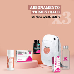 PEACHPACK REFILL</br><strong>Abbonamento trimestrale</strong>