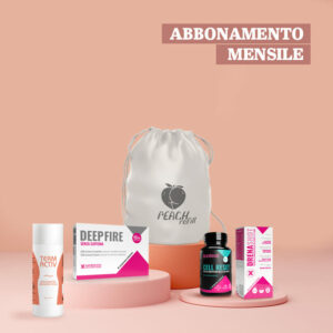 PEACHPACK REFILL</br><strong>Abbonamento mensile</strong>