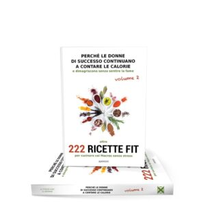 LIBRO RICETTE FIT VOL. 2<strong></br> 222 Ricette</strong>