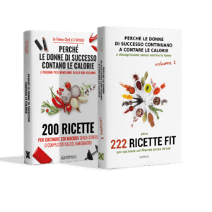 Pack Libri Ricette – Volume 1 + 2<br><strong>422 ricette Fit</strong>
