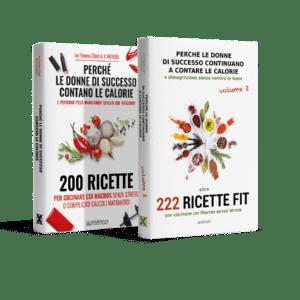 Pack Libri Ricette – Volume 1 + 2