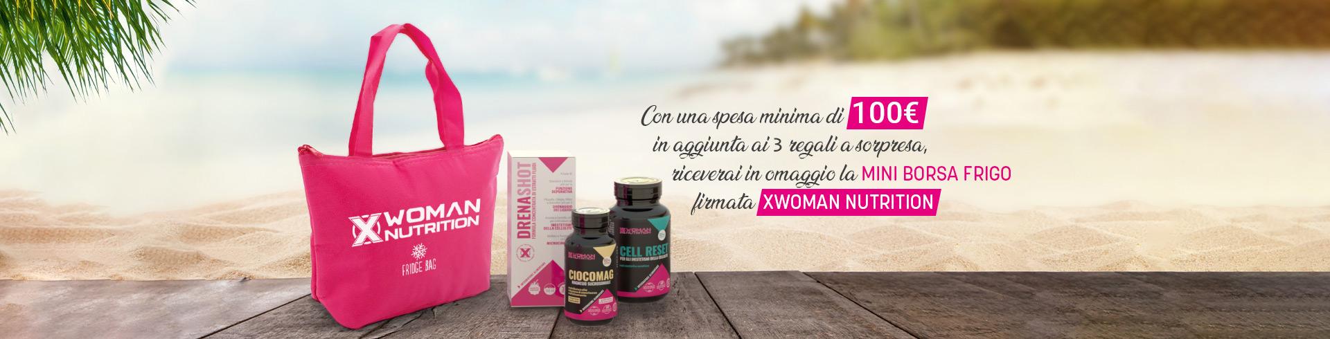 Slide Promo Borsa Frigo - XWoman Nutrition